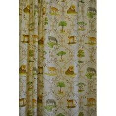 Add An Outdoor And Jungle Like Feel To Your Bathroom With This Animal  Safari Shower Curtain Set. This Cute Jungle Animal Shower Curtain Set Is  Made Of ...