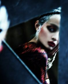 """Secret Dream"" | Model: Wang Jing, Photographer: Kiki Xue, Target, Shanghai, China, September 2012"