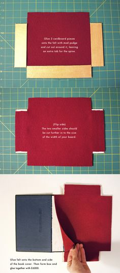 Book Clutch DIY Inspired by Olympia Le-Tan (Part 1) | Sprinkles in Springs