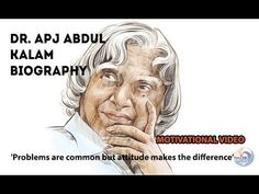 Dr. APJ Abdul Kalam Biography in English | Inspirational and Motivationa...