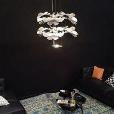 Chlorophilia 2 by Ross Lovegrove at Le Club restaurant. #artemide #lightdesign #design #interior #interiordesign #light
