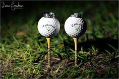Wedding on a golf course