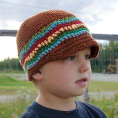 Brimley Hat Crochet Pattern (Sizes Newborn to Adult). $5.50, via Etsy.