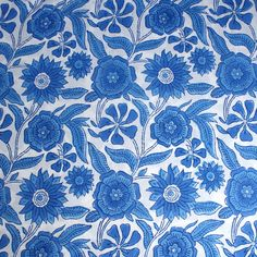 100% cotton wood-block printed bed cover or flat sheet. Made in two classic…
