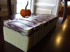 * Making Cold Process Soap with Poppy Seeds * A Nice Fall Colored Soap * - YouTube