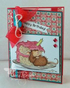 FS310 Birthday Cake by Twinshappy - Cards and Paper Crafts at Splitcoaststampers y