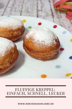 Ob Kreppel, Karpfen oder Berliner - diese Süßigkeit schmeckt richtig gut.