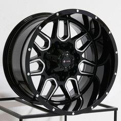 20x12 Vors V819 6x135/6x139.7 -44 Black Machined Wheels Rims Set(4) 106.1 · $839.00 Toyota Trd Pro, Toyota Tacoma, Trd Pro Wheels, 20 Rims, Fj Cruiser, Black, Ebay, Black People, Tacoma World