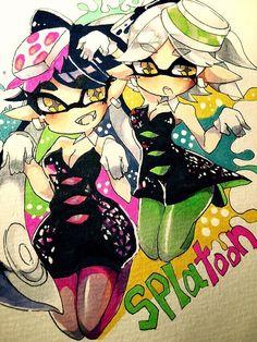 Stay Fresh squid sisters/ estás fresco hermanas squid