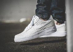 Nike Air Force 1 Low 07 LV8 White Croc