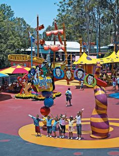 Wiggles World, Dreamworld, Australia