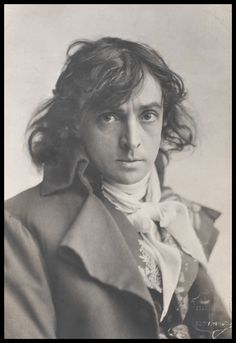 """ English stage actor, John Martin-Harvey, c.1899 """