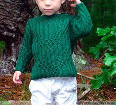 Детский свитер спицами. Свитера спицами со схемами
