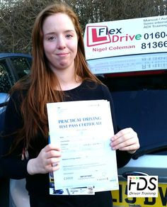 Driving Lessons in Wellingborough and Northampton  Congratulations to Lauren Teer who passed her practical Driving Test today the 22nd February 2016. Very well done and best wishes from your Driving Instructor Nigel and all of us here at Flexdrive Driving School.  Lauren had driving lessons in Wellingborough and Northampton with Flexdrive Driving School. #drivinglessons #learntodrive #wellingborough #northampton