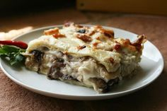Italian Food Forever » Lasagna With Caramelized Radicchio, Onions & Crispy…