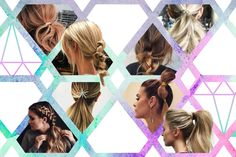 21 ways to give your ponytail an extra edge