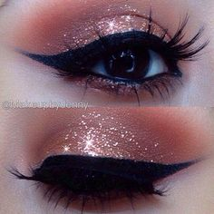 I need this glittery eyeshadow in every color !