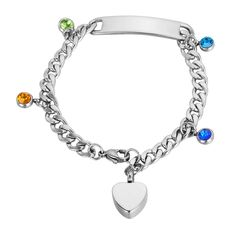 VALYRIA Memorial Jewelry Pet Paw with Heart Keepsake Urn Cremation Pet Ashes Bracelet -- See this great product.