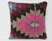 kilim pillow 18x18 blue tribal pillow winter kilim pillow case tradition turkish pillow case red kilim pillow old turkish kilim pillow 27097