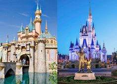Parents hit up family-travel experts to compare Walt Disney World and Disneyland Resort in eight categories, from the eats to the entertainment.