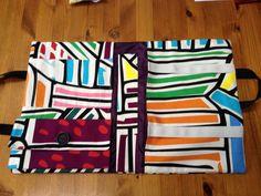 Fabric portfolio inside view
