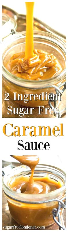 The best things in life are simple - like this 2 ingredient sugar free caramel sauce. Low carb, vegan and delicious, it can be used in candy or as a topping for ice cream, cakes, pancakes or waffles. (Low Ingredients)