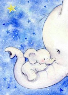 New Ideas Baby Drawing Animation Watercolor Painting Baby Elephant Drawing, Baby Drawing, Elephant Art, Baby Room Paintings, Baby Painting, Elephant Canvas Painting, Watercolor Painting, Elephant Paintings, Elephant Watercolor