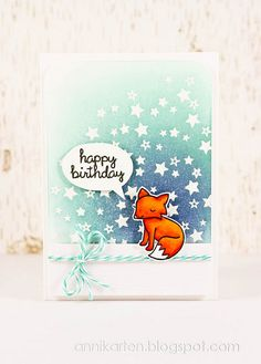Critters in the Forest- Happy Birthday by anikaberlin, via Flickr