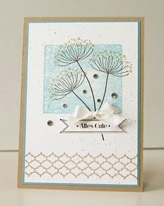 Summer Silhouettes card.