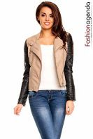 Leather Jacket, Sweaters, Fashion, Studded Leather Jacket, Moda, Leather Jackets, Fashion Styles, Sweater, Fashion Illustrations