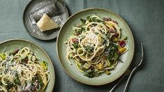 Spaghetti with chard, chilli and anchovies recipe - BBC Food Quick Recipes, Quick Meals, Veggie Recipes, Pasta Recipes, Pasta Meals, Anchovy Recipes, Raw Vegetables, Recipe Search, Vegetarian Cooking