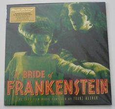 Nu in de Catawiki veilingen: OST - Bride Of Frankenstein (Franz Waxman) *Limited LP, 180 gram on Slime Green Viny...