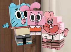 The Amazing World Of Gumball Paper Toys - by Cartoon Network -         The Amazing World of Gumball (sometimes referred to simply as Gumball) is a British/American animated television series created by Ben Bocquelet and produced by Cartoon Network Development Studio Europe. It first aired in the United Kingdom on May 2, 2011 on Cartoon Network as a sneak preview and officially premiered on September 5, 2011. - Wikipedia