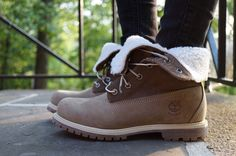 Women's Timberland -   Fold-Down Boots