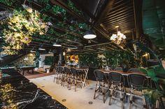 Kampai garden : nouveau chic beer garden dans le Shauhgnessy village Bagdad, Montreal Canada, Beer Garden, Coups, Restaurant Bar, Table, Wanderlust, Home Decor, Bikini