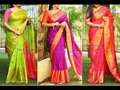Latest designer saree by priva collective.
