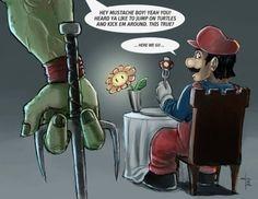 Turtles vs. Mario