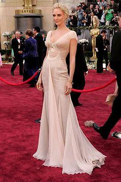 Uma Thurman, Versace, Oscars 2006