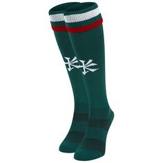 Leicester Tigers Home Playing Sock 2017/18 - Junior: Leicester Tigers Home Playing Sock 2017/18 - Junior 100% Acrylic #englandrugby