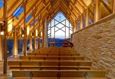 Rio Roca Ranch Chapel is an Ethereal Wooden Church Filled with Air and Light | Inhabitat - Green Design, Innovation, Architecture, Green Building