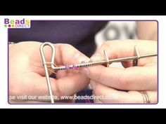 Claire shows you how to make a wire bead using the coiling gizmo. Using 0.5mm wire, coiling using the gizmo and shaping into a bead you can use in your jewellery making. It really is easy and we show you how!