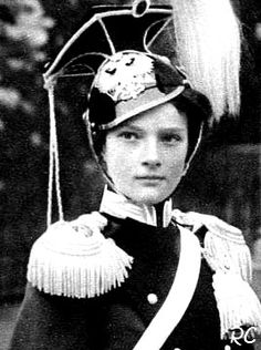 Grand Duchess Tatiana as honorary Colonel-in-Chief of the 8th Voznesensky Uhlan regiment.