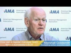 Three Questions for Marshall Goldsmith. You can meet Marshall in Budapest on www.humanassetsummit.com