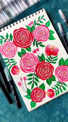 Art Painting Tools, Canvas Painting Designs, Art Painting Gallery, Gouache Painting, Watercolor Paintings, Flower Art Drawing, Oil Pastel Drawings, Art Drawings Beautiful, Art Inspiration Drawing