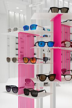 29d1ba39336 multibrand eyewear retailer launches a new store concept in shanghai. Store  Interiors