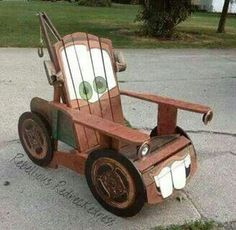 This is the cutest Tow-mater chair ever!
