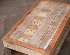 Rustic Coffee Table  Handmade Pallet Furniture by PalletablesUK