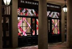 Concept retail Burberry à Covent Garden