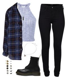 53. by calums-flannels on Polyvore featuring moda, Equipment, Miss Selfridge, French Connection, Dr. Martens, Hot Topic, Wet Seal and Karen Kane