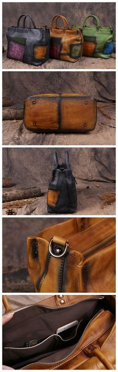 Handmade Full Grain Leather Women Handbag, Designer Handbag, Leather Satchel Bag G128090